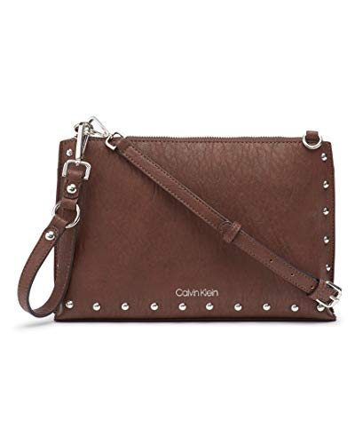 (Calvin Klein Sonoma Key Item Novelty Crossbody, Walnut )
