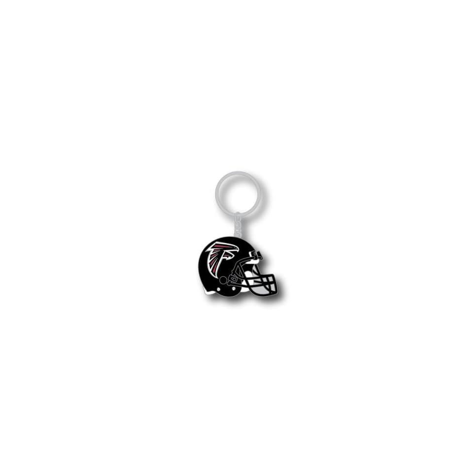 Atlanta Falcons Metal Helmet Key Ring Aminco