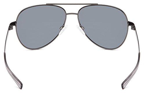 b30e592fa3 GAMMA RAY TITANLITE Tomcat Polarized UV400 Titanium Aviator Sunglasses in  Nickle Free Hypoallergenic Frame