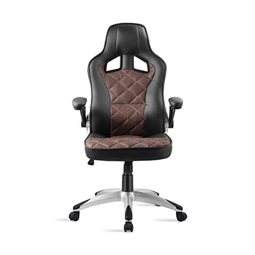 ATX Racing Daytona Silla Gaming, PU, Marron, Tamano unico