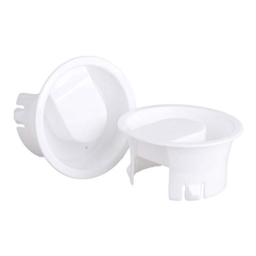 - IEFIEL 2Pcs Food Grade Water Pitcher Lids Splash Resistant Covers Stoppers for Glass Bistro Pitcher White One Size