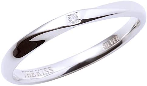 リング 指輪 メンズ 男性 プレゼント 誕生日 記念日 ダイヤモンド シルバー リング SR1552DM ザキッス ザキス キッス (19)