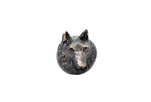 wolf door knob - 4
