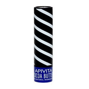 3 X Apivita Lip Care with Cocoa Butter Spf20 (New Product, Released in 2017) - 3 X 4.4gr