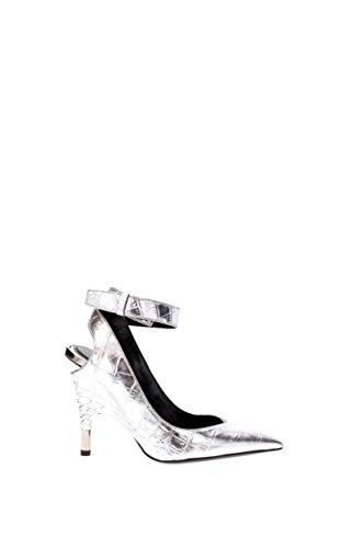 Silver w1817tpcd Pelle Eu donna Sandali Ford Tom qSffz8