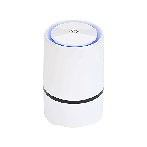 Emperor of Gadgets Desktop Air Purifier Ionizer with True HEPA Air Filter Technology - Portable Air Cleaner and Purifier for Use in Bedroom, Office, Car, Kitchen, Bathroom