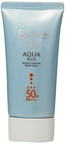 Biore Sarasara Uv Aqua Rich Waterly Essence Sunscreen 50g Spf50+ Pa+++ for Face and Body