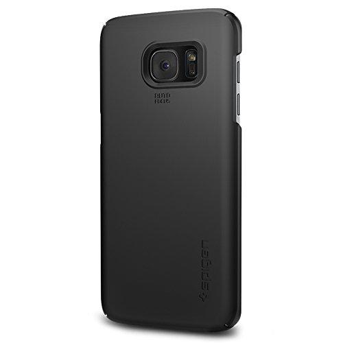Spigen 556CS20029 Samsung Galaxy S7 Edge Schutzhülle Thin Fit schwarz
