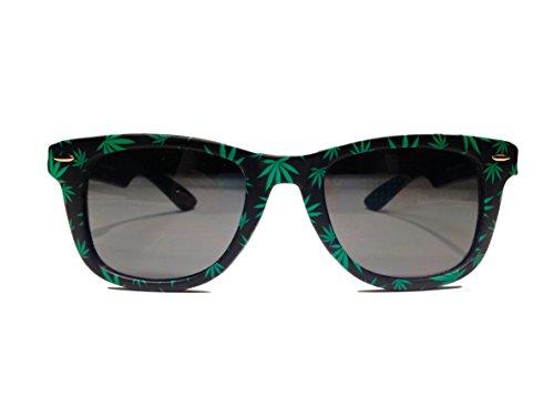 Weed-Leaf-Sunglasses