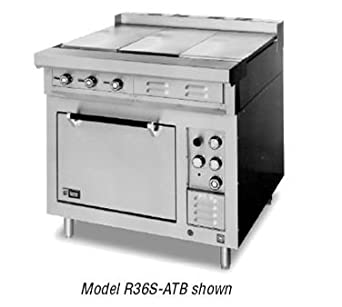 Lang R36S ATC 36quotW Electric Range With 2 12quot Hot