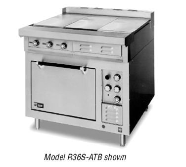 Lang R36S-ATE 36''W Electric Range With (6) French Hot Plates And Standard Oven by Lang