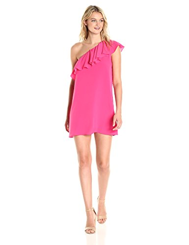 Primrose French One Summer Connection Dress Shoulder Women's Crepe Light Hot wzpHw