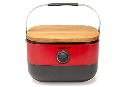 Cuisinart CGG-750 Venture Portable Gas Grill, Red (Renewed)