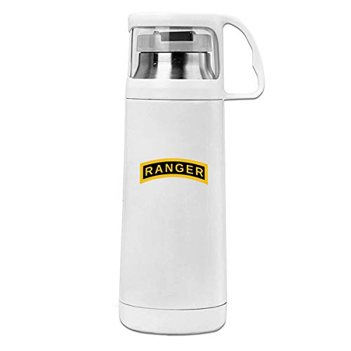 US Army Retro Ranger Double Walled Stainless Steel Travel Mug 12 Oz -