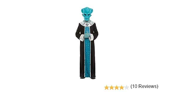 Smiffys 51019M - Disfraz de Alien para niños (talla M, 7-9 años ...