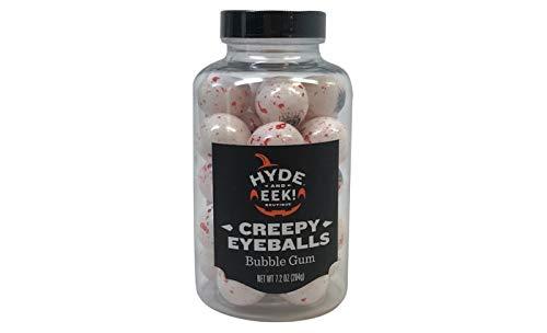 Creepy Halloween Eyeball Jar - 7.2oz -Hyde and Eek! Boutique