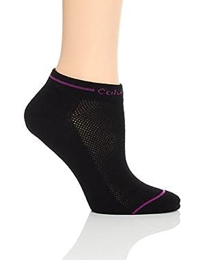 Calvin Klein Women's Logo Liner Socks - 6 Pack