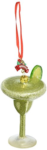 Department 56 Margaritaville Margarita Glass Hanging Ornament -