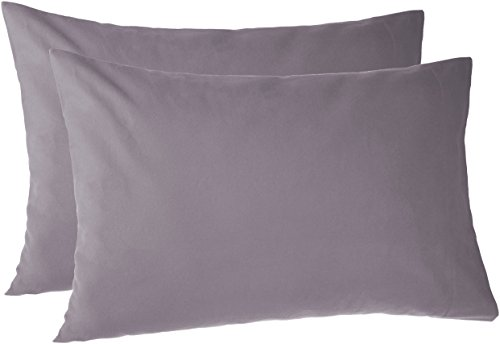 Pinzon 170 Gram Flannel Pillowcases - King, Graphite