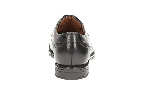 Clarks Beckfield Limit, Zapatos de Cordones Oxford para Hombre negro