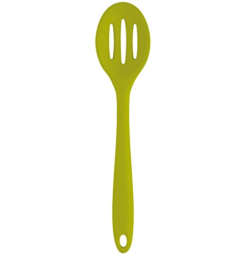 Farberware Colourworks Silicone Slotted Spoon, 11-Inch, ()