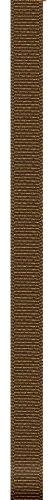Chocolate Brown Grosgrain - Offray Grosgrain Craft Ribbon, 3/8-Inch Wide by 100-Yard Spool, Milk Chocolate