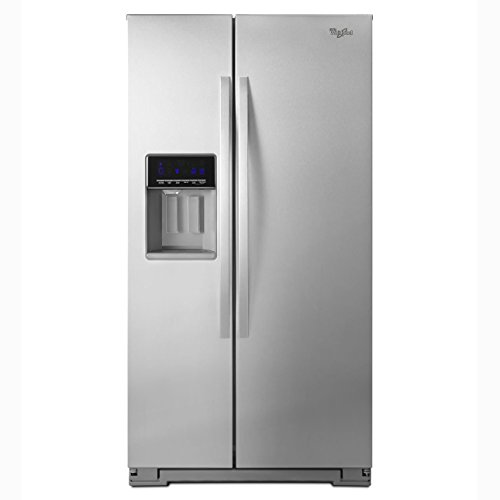 Accu Chill System (Whirlpool WRS571CIDM 20.6 Cu. Ft. Stainless Steel Counter Depth Side-By-Side Refrigerator - Energy)