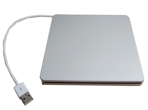 Generic Usb External Slim Slot in Case Enclosure for Sata 9.5mm Slot Load Cd Dvd Rw Blu-ray Drive