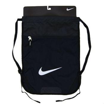 Nike Team Training Gymsack (Black/black/white) Team Zipper