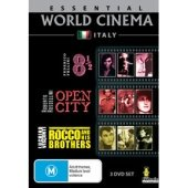 ESSENTIAL WORLD CINEMA: ITALY (8 1/2 ; Open City ; Rocco And His Brothers) [PAL/REIGON 0 DVD. Import-Australia]