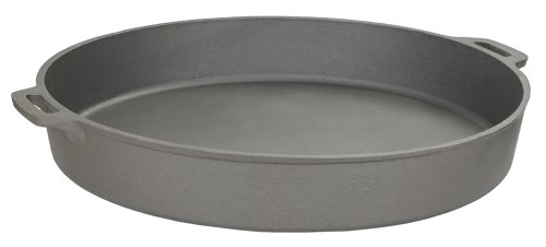 20 inch cast iron frying pan - 1