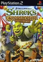 New Activision Sdvg Shrek Carnival Craze Product Type Ps2 Game Stylish Genre Video Strategy Puzzle