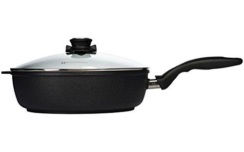 "315P8 2tBQL - Swiss Diamond Nonstick Saute Pan with Lid - 4.3 qt (11"")"