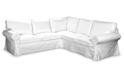 Funda para sofá de IKEA EKTORP en algodón de colour blanco ...