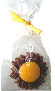 Chocolate Sunflower Gift Bag 10 piece box