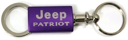Jeep Patriot Purple Valet Key Fob Authentic Logo Key Chain Key Ring Keytag Lanyard DanteGTS