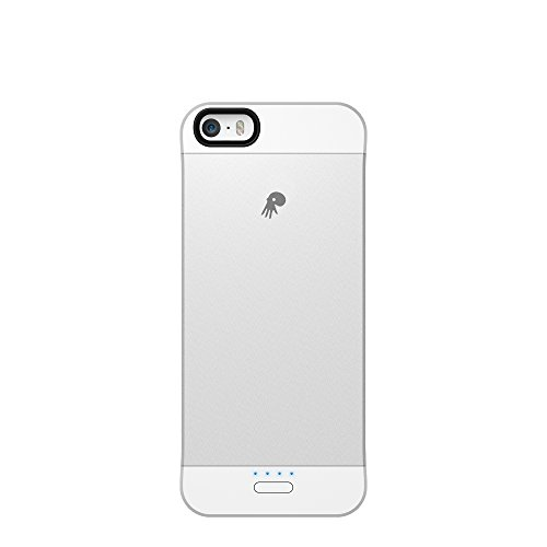 Powerskin Spare Rechargeable Battery Case for Apple iPhone 5/5S - Retail Packagin - Silver