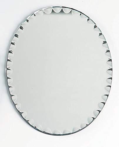 - Darice Oval Scalloped Edge: 5 x 7 inches Mirror