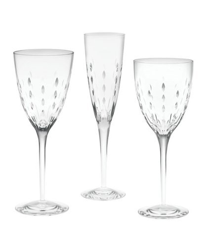 Waterford Monique Lhuillier Modern Love Crystal Wine Glass - 12 Ounces by Monique Lhuillier