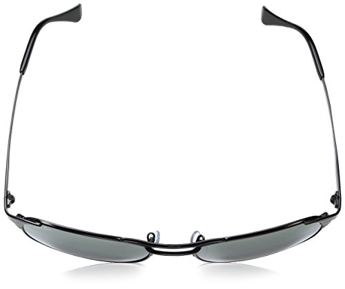 Ray-Ban Men's Metal Man Square Sunglasses, Shiny Black, 58 mm by Ray-Ban (Image #4)
