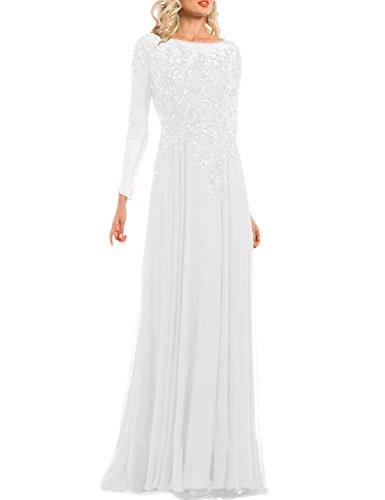 beaded dress white - 5