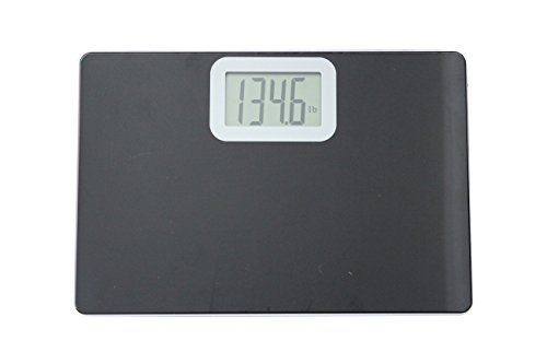Talking Bathroom Scale, Visual and Voice Display, Tempered Glass, Large LCD Display, LBS and KG measurement by Talking Digital Scales