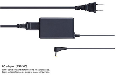 Psp 1000 2000 3000 AC Power Cable Adapter Home Wall Charger (Psp Charger Home)