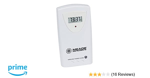 Amazon Com Meade Instruments Long Range Temperature White Ts34c