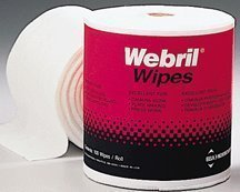 - Webril Handi-pads 8x8 Bag (8 ROLL CASE) 100 Wipes / Roll