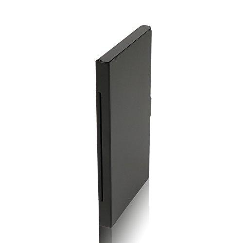 De Poche En Pour D'aluminium Visite bleu Carte Cartes Noir D'identité Crédit Alliage Coloré Visite qgw6RwZ