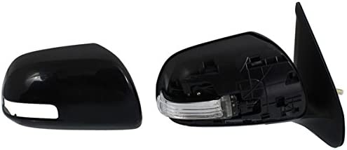 Mirror Power Turn Signal Black Pair Set for 12-15 Toyota Tacoma NEW