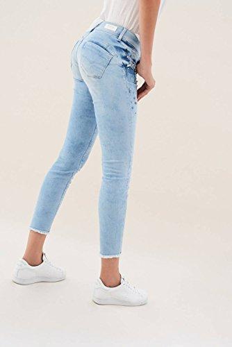 Perle Azzuro Salsa Wonder Capri Con Jeans Iwxx8O7qa