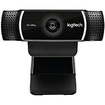 Logitech C922 Pro Stream Webcam 1080P Camera for HD Video Streaming & Recording 960-001087(Certified Refurbished)