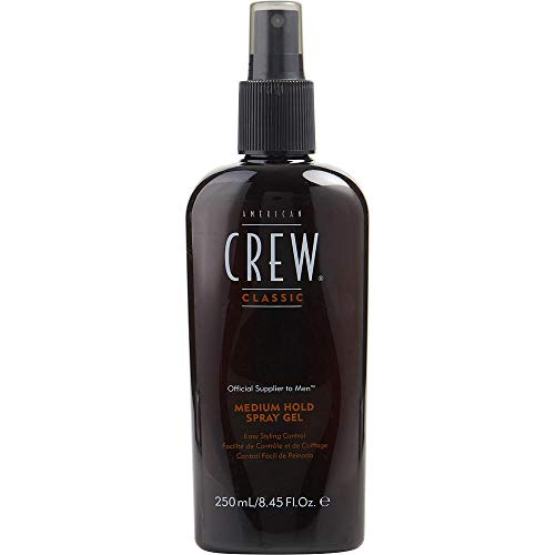 AMERICAN CREW by American Crew SPRAY GEL MEDIUM HOLD 8.45 OZ Package of 3